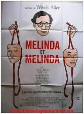 MELINDA ET MELINDA Affiche Cinéma / French Movie Poster WOODY ALLEN
