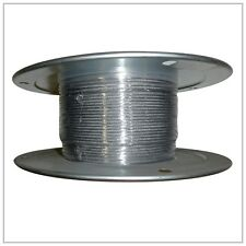 """5/32"""" X 500FT STAINLESS STEEL AIRCRAFT CABLE REEL 7x19 BULK Free Shipping"""