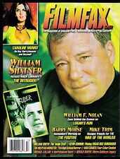 FILMFAX 117 MAGAZINE OF MOVIE TV PLUS CAROLINE MUNRO WAR COMICS SHATNER NOLAN