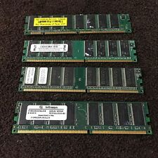 Lot 4 - SD, BRAVO, PNY, Infineon, 128, 2 - 512 MB & 1 GB DIMM DDR2 Memory