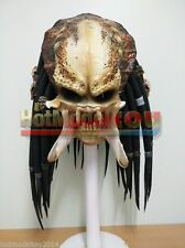 Classic Predator Costume Mask AVP Scary alien Cosplay Full Face Replica Hi End