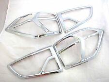 CHROME REAR TAIL LAMP LIGHT COVER TRIM FOR FORD ECOSPORT HATCHBACK SUV 1.5L 2014