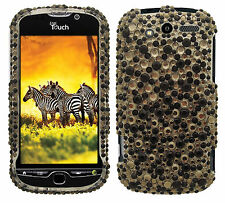 For HTC myTouch 4G Crystal Diamond BLING Hard Case Snap on Phone Cover Star Dust
