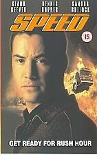 Speed [VHS], Good VHS, Keanu Reeves, Dennis Hopper, San, Jan de Bont