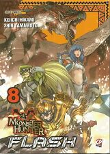MANGA - Monster Hunter Flash N° 8 - GP - NUOVO