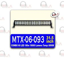 60 LED 180w 18000 LUMINS Temp:6000K 31.5INCH