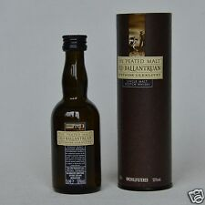 OLD BALLANTRUAN - Glenlivet - Peated Malt Scotch Whisky 50% 50ml Mini + Tube