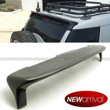 Fit 10-15 Toyota FJ Cruiser J Style Real Carbon Fiber Rear Roof Wing Spoiler