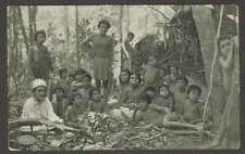 Brazil Postcard Indios Botucudos Rio Doce E Do Espirito Santo L@@K