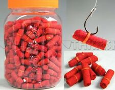 300 Pcs in 1 bottle Red Grass Carp Baits Fishing Baits Fishing Lures
