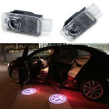 2 Pcs Wireless 3D LED Welcome Logo Car Door Light Courtesy Projector Lamp For VW