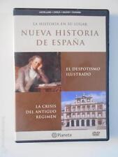 DVD NUEVA HISTORIA DE ESPAÑA 8 - EL DESPOTISMO ILUSTRADO - LA CRISIS DEL ANTIGUO