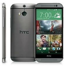 NEW HTC ONE M8 32 GB *GREY * 4G * ORIGINAL* MARSHMALLOW* NON ROOTED & UPDATABLE*