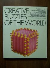 CREATIVE PUZZLES OF THE WORLD - 100s OF PUZZLES OF ALL TYPES - ILLUSTRATED