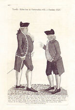 John Kay Original Antigua Grabado. James Bruce, Esq. de Kinnaird y.., 1791