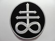 LEVIATHAN CROSS   EMBROIDERED  PATCH