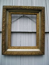 Antique Aesthetic Eastlake Aged Victorian Deep Complex Picture Frame 8 x 10