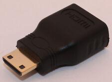 HDMI Female (A) to Mini HDMI (C) Male Adapter, Brand New! HD 720/1080p