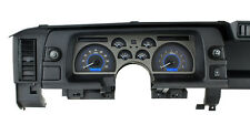 Dakota Digital 90 91 92 Chevy Camaro Analog Dash Gauges Carbon Blue VHX-90C-CAM