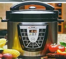 New Digital Power Pressure Cooker XL Electric 8 Quart Stainless Steel 2017