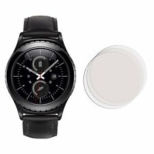 2 Front Clear LCD Screen Display Protector Film Foil For Samsung Gear S2 Classic