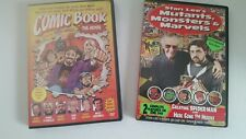 2 DVD's-COMIC BOOK THE MOVIE-STAN LEE Mutants/Monsters-KEVIN SMITH-MARVEL COMICS