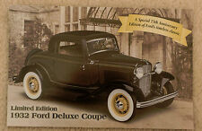 Danbury Mint brochure - 1932 Ford Deluxe Coupe LE -  FREE US SHIPPING