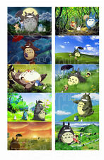 "10pcs 5.4x8.5cm(2.1""x3.3"")  Anime My neighbour Totoro card stickers"