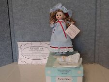 Victorian Lullaby For Oma's Doll Shop Madame Alexander LE of 350 2009 #51720 COA