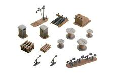 Faller Trackside Maintenance Accessories Set 120141 (HO Scale suit OO also)
