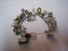 Vintage Silver Charm Bracelet in Excellent Condition. Full details see listing