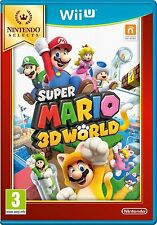 Super Mario 3D World Selects (Nintendo Wii U) Fun Kids Adventure Game Pal NEW!