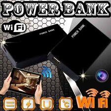 WIFI 1080P SPY Mobile Power Bank Night Vision IP Camera Video Recorder F