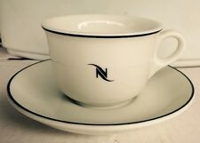 NESPRESSO TRADEMARK LOGO RESTAURANT WARE COFFEE CUP & SAUCER, MADE in GERMANY