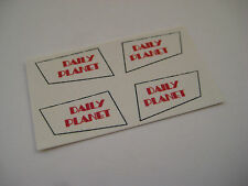 Corgi  Juniors 6 SUPERMAN DAILY PLANET Helicopter Sticker Decals