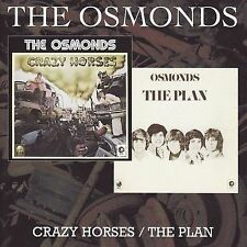 Crazy Horses/The Plan by The Osmonds *New CD*