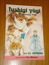 FUSHIGI YUGI THE MYSTERIOUS PLAY VOL 11 VETERAN MANGA SHOJO GRAPHIC NOVEL