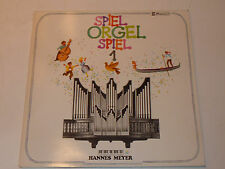 LP HANNES MEYER spiel ORGEL 1 organ ORGUE 1977