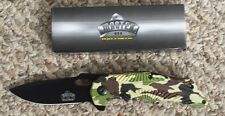 """7 3/4"""" MASTER USA SPRING ASSISTED KNIFE/ CANADA"""