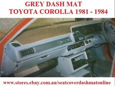 DASH MAT, DASHMAT, DASHBOARD COVER FIT TOYOTA COROLLA  1981-1984,  GREY