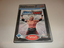 PLAYSTATION 2 PS 2 WWE SmackDown vs. Raw 2007 (Platinum)