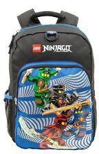 "Lego Ninjago 16"" Backpack 4 Ninjas Bag School Travel Kai Jay Cole Lloyd NWT"