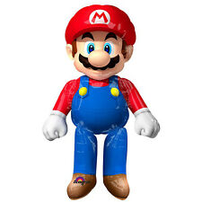 "Super Mario Brother Airwalker 60""Jumbo Foil Balloon Birthday Party Supply Decor"
