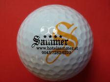 Golfball mit Logo HOTEL SAMMER AT Österreich Golf Logoball als Andenken Geschenk