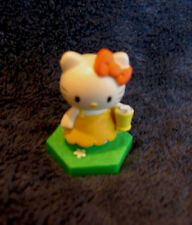 """TOMY HELLO KITTY FIGURE """"HOLDING A GLASS"""" NEW"""