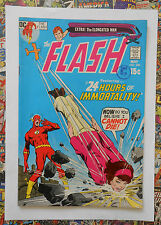 THE FLASH #206 - MAY 1971 - ELONGATED MAN APPEARANCE! - VFN (8.0) CENTS COPY