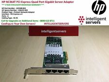 HP NC364T PCI Express Quad Port Gigabit Server Adapter High Profile 435508-B21