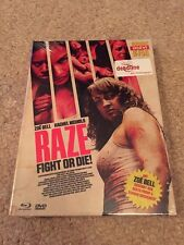 Raze Fight Or Die Blu Ray Mediabook Cult Horror Fighting Gore