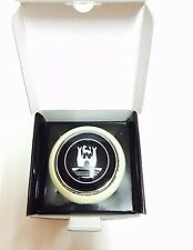 VW Volkswagen Type 2 Deluxe Bus Horn Button With Castle Logo (White)