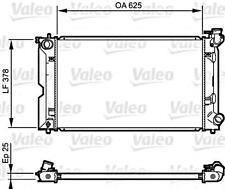 VALEO Engine Cooling Radiator Fits TOYOTA Corolla 1.4L Diesel 2004-07 164006A290